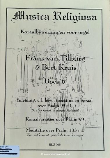 Frans van Tilburg en Bert Kruis | Musica Religiosa (boek 6) - noten