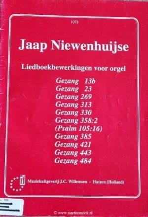 Jaap Niewenhuijse Liedboekbewerkingen voor orgel - noten