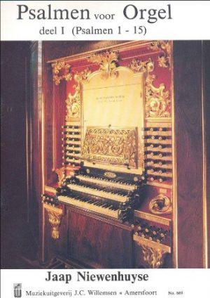Jaap Niewenhuijse | Psalmen voor orgel (deel 1) - noten