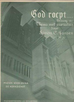 Simon C. Jansen | God roept... thema met variaties - noten