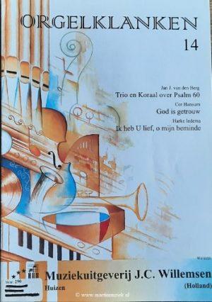 van den Berg, Hansum en Iedema | Orgelklanken (deel 14) - noten