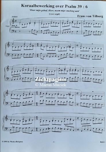 Zichtpagina - Frans van Tilburg en Bert Kruis | Musica Religiosa (boek 2) - noten