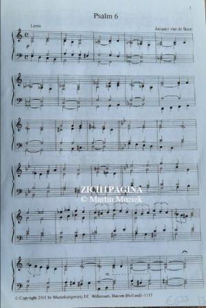 Zichtpagina - Van de Baan, van Tilburg en Gijzen | Orgelklanken (deel 15) - noten